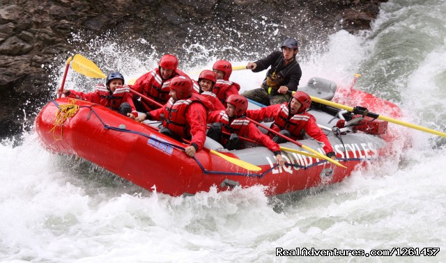 Multi-Day Rafting Excusions - Whitewater Rafting in Wells Gray Park, BC