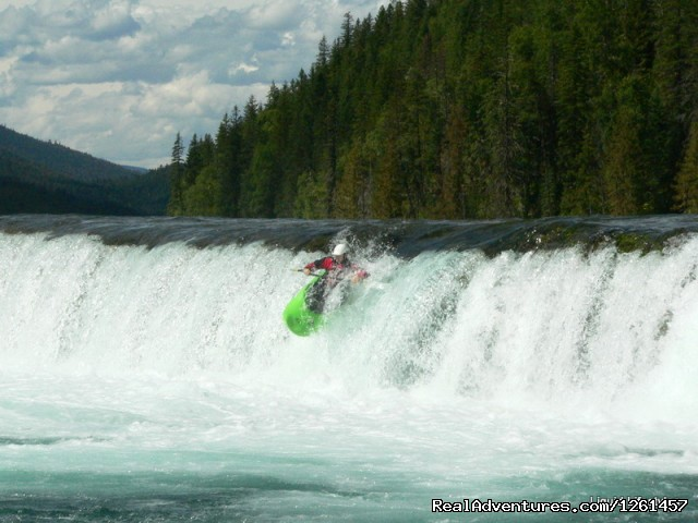 Learn to Kayak - Whitewater Rafting in Wells Gray Park, BC