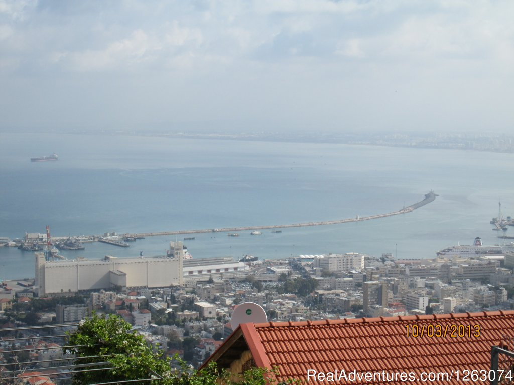 Haifa ' from mount Carmel on winter day | Image #17/17 | Stella- Maris Hosting: Vacation  Rental