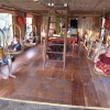 Lower level of Eco houseboat
