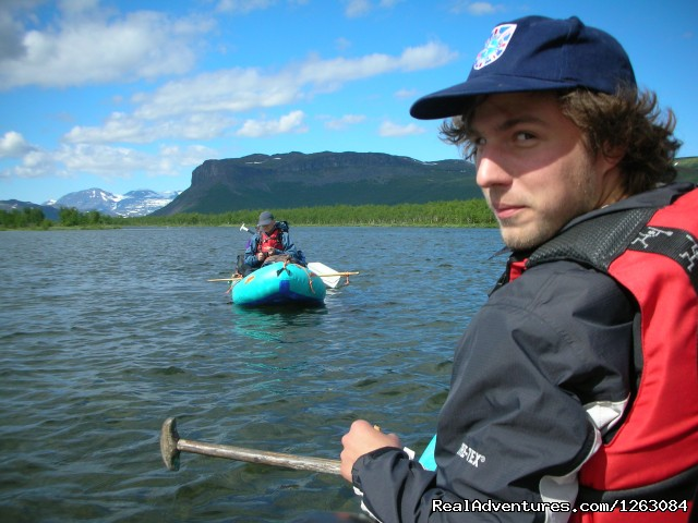 Hiking, Canoing and fishing expedition in Lapland - Kayaking and hiking in Greenland and Lapland