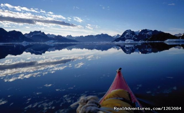 Kayaking in Greenland - Ice cap tour - Kayaking and hiking in Greenland and Lapland