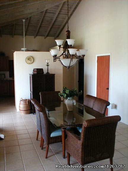 Dining Room - Private 3-Bedroom Villa with Infinity Edge Pool