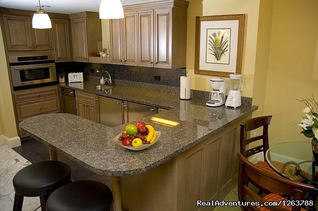Kitchen (#5 of 8) - Luxurious Carlton Club Condo US Virgin Islands