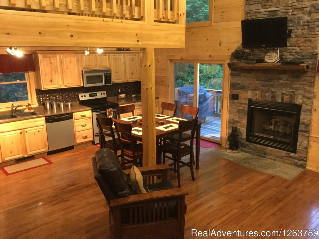 Image #10/20 | Luxury Cabin on Beautiful Mt Stream $199/nightly