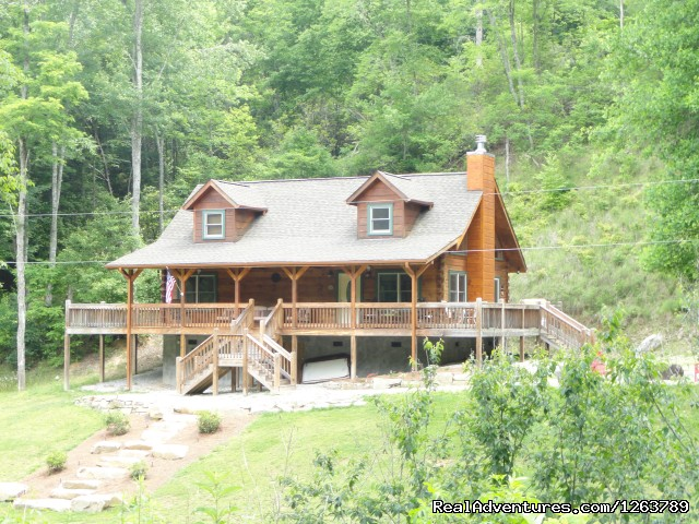 Luxury Cabin on Beautiful Mt Stream Great Rates Beautiful Log Cabin on Creek