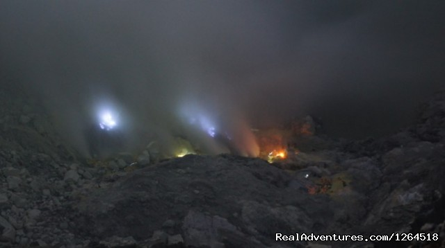 Kawah Ijen Blue Fire - Volcano Adventure Tour in Indonesia