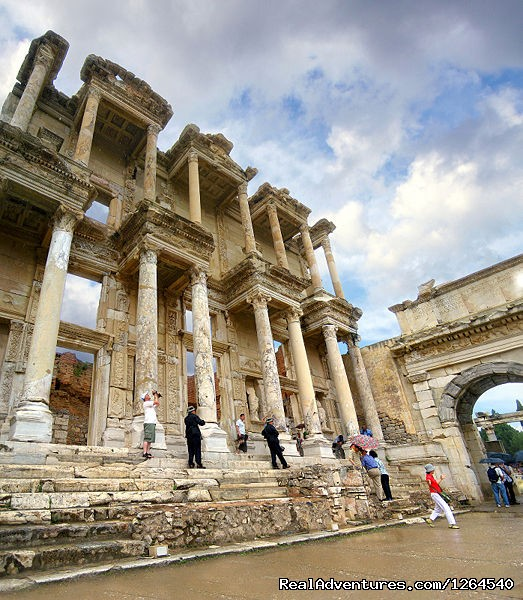 Celsus Library, Ephesus, Turkey - No Frills Ephesus Tours