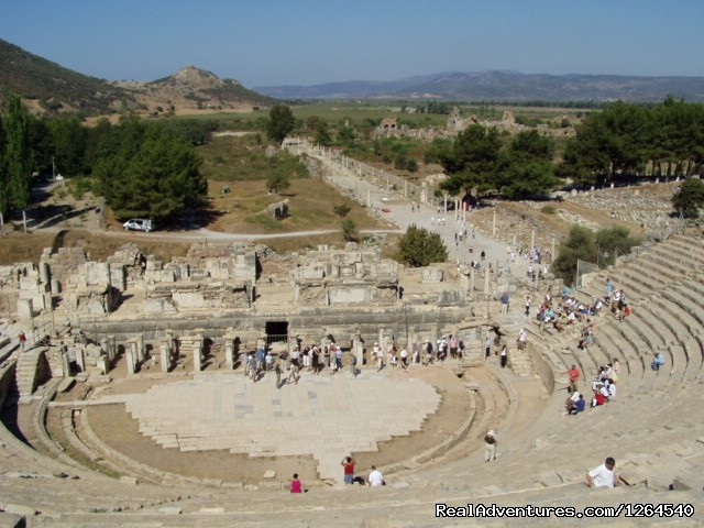 Great Theater, Ephesus, Turkey - No Frills Ephesus Tours