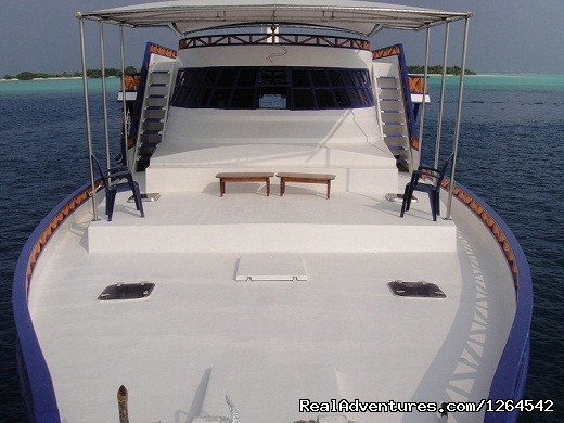 - Dive any where any time on this live-aboard safari