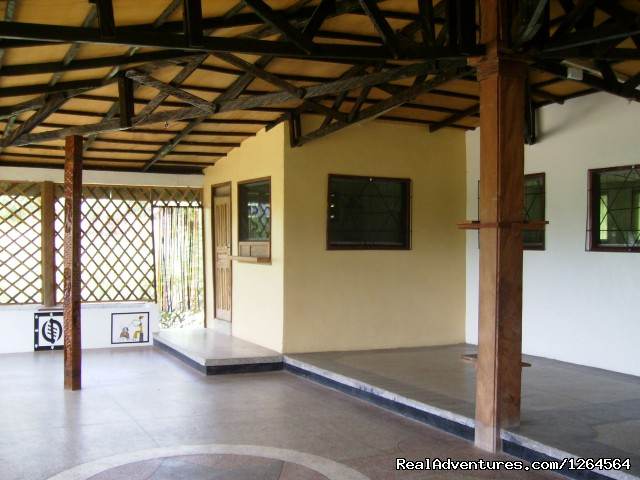 Black Star Lions' verandah - Black Star Lions' Guest Cottages
