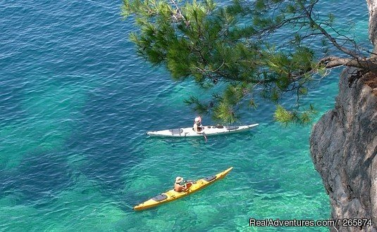 This holiday is outfitted and guided sea kayaking tour. On this tour you will explore the small islands and hidden bays from the kayak, as also explore Dubrovnik and some beautiful islands around Dubrovnik, island Sipan, Lopud, Kolocep and Lokrum..