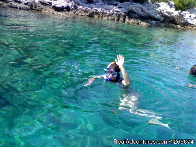 Snorkeling - Sea Kayaking week in Dubrovnik region