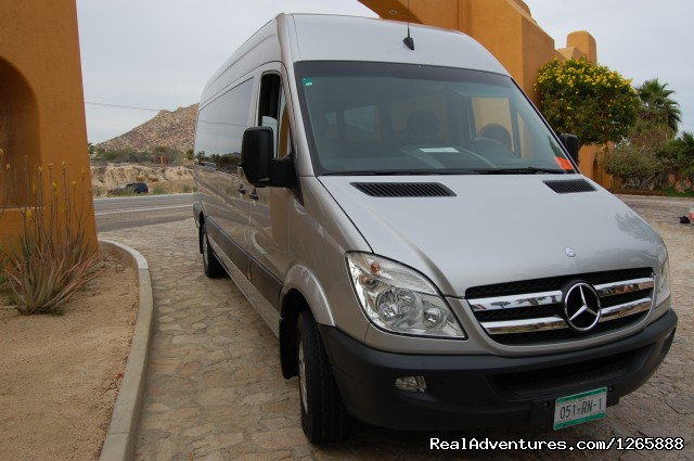 M-Benz Sprinters - Dunes Tours & Travel, VIP Airport Transportation