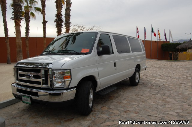 10 Pax Van - Dunes Tours & Travel, VIP Airport Transportation