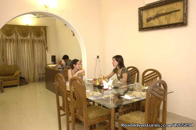 Dinning Area - Taj Homestay Agra