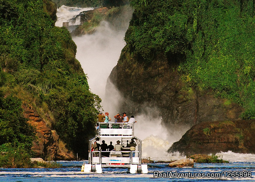 Boat Cruise to the Top of Murchison Falls in Uganda - Africa Nature Trekkers