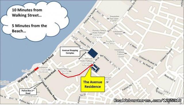 Executive Studios For Rental In Pattaya - New Studios For Rent In Pattaya Downtown