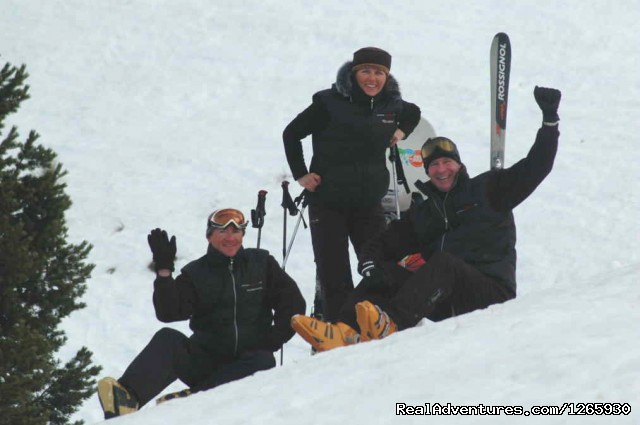 The Team - Private All Day or Half Day Ski tuition Coronet Pk