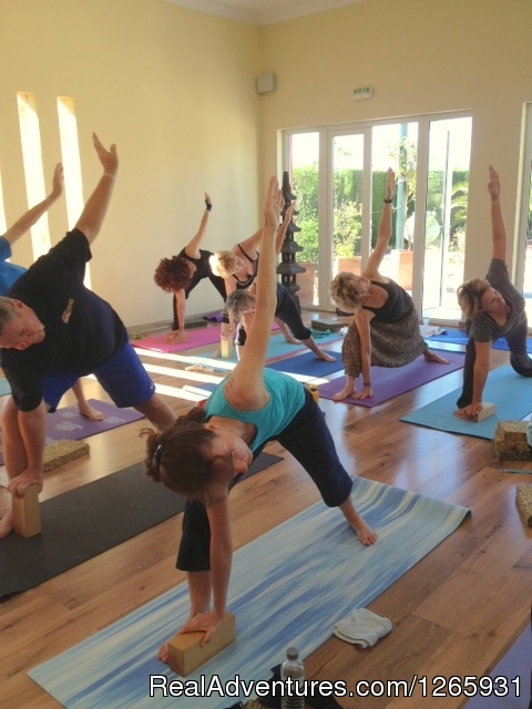 Yoga In Yoga Studio - Detox and Yoga holiday Spain