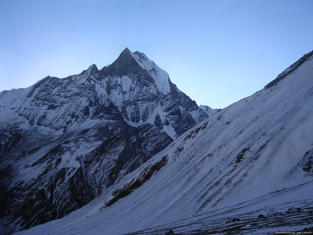 Annapurna  sanctuary trek f