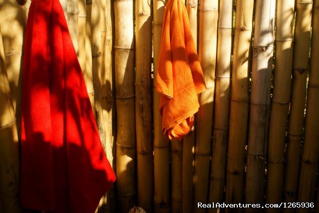 Bamboo Outdoor shower (#6 of 26) - Katamah Treasure Beach Jamaica