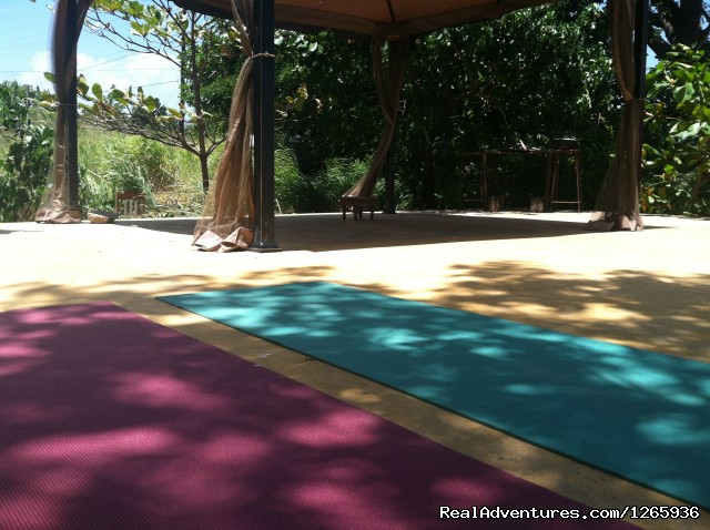Shaded Yoga area (#22 of 26) - Katamah Treasure Beach Jamaica