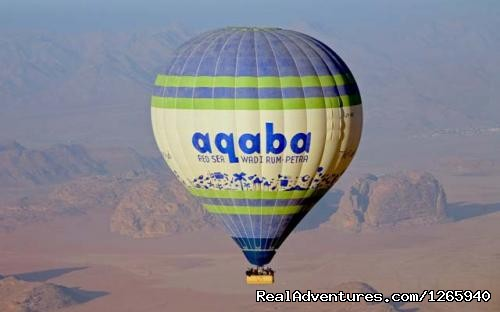 Hot air Balloon: Hot Air Balloon Over Wadi Rum