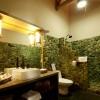 Exotic bathroom