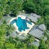 Aerial view of Clandestino Beach Resort