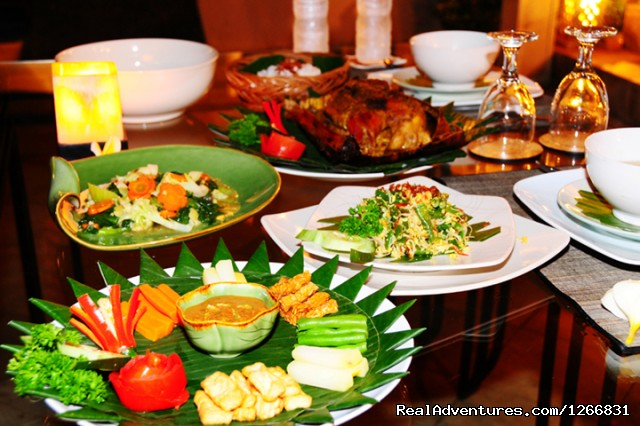 Indonesian special Dinner - A Private Villas for your Comfortable stay