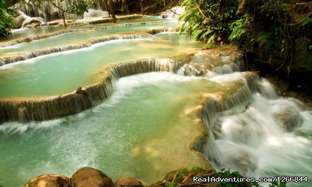 Kuang Si Waterfall Laos - Discover Luang Prabang - The Gem Of The Mekong