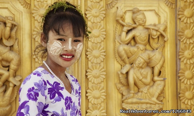 Traditional Burmese Girl (#5 of 6) - A Tale Of Two Cities: Mandalay To Bagan