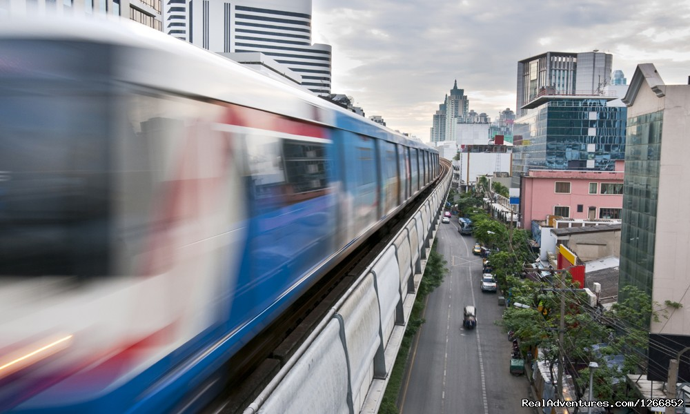 Bangkok Sky Train | Image #2/6 | Sweet, Sour, Salt And Spicy: Thailand's Culture