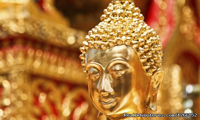 Gold Face Of Buddha Statue In Doi Suthep Temple (#4 of 6) - Sweet, Sour, Salt And Spicy: Thailand's Culture