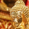 Gold Face Of Buddha Statue In Doi Suthep Temple