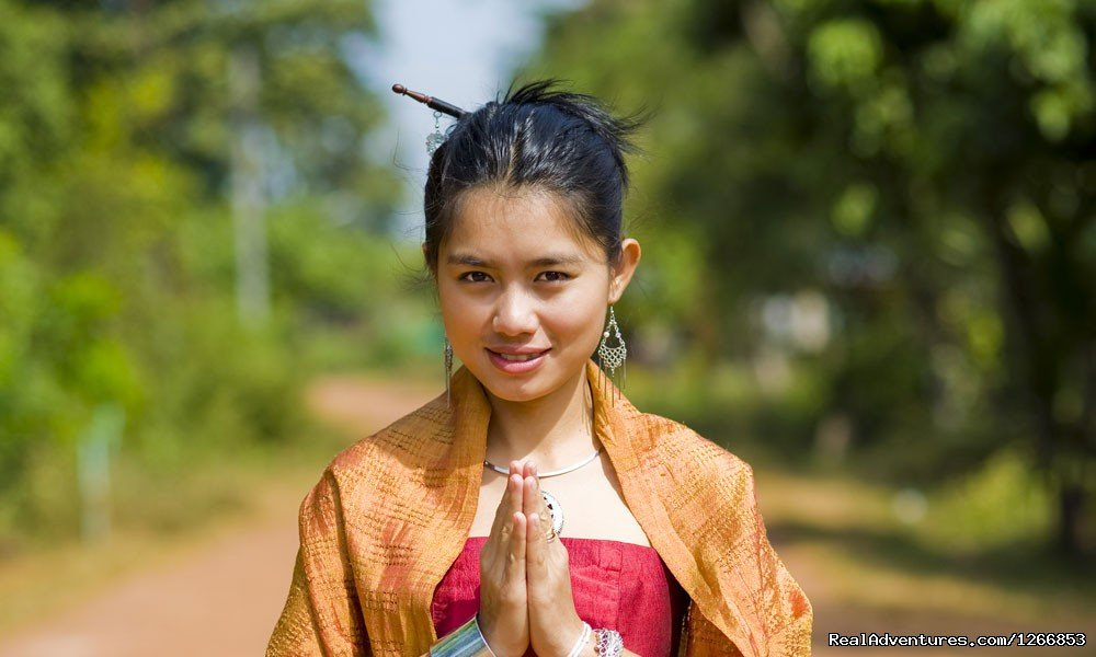 Thai girl in traditional isaan style clothes | Image #4/6 | Isaan - Undiscovered Northeastern Thailand