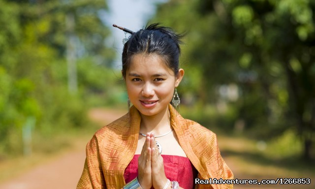 Thai girl in traditional isaan style clothes (#4 of 6) - Isaan - Undiscovered Northeastern Thailand