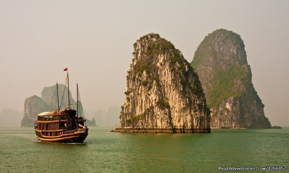 Beautiful scene on a gloomy day in Halong Bay, Vietnam. | Image #5/6 | The Best Of Vietnam