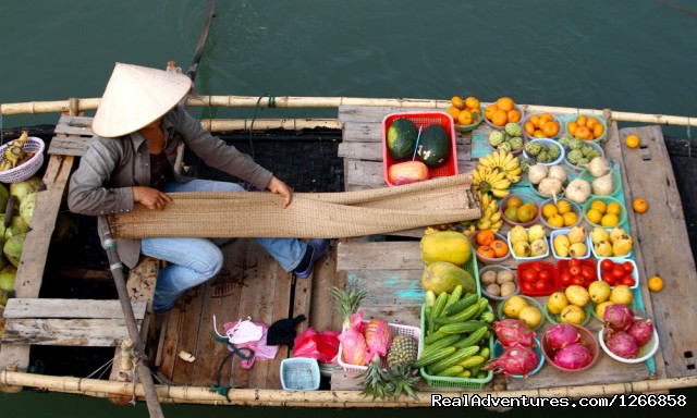 The Treasures Of Hanoi & Halong Bay Float market