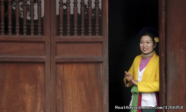 Vietnamese lady (#2 of 6) - The Treasures Of Hanoi & Halong Bay