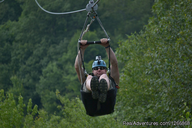 Zipline Tour - AdventureTours in NJ