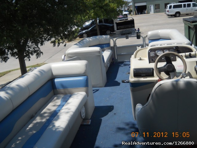 Pontoon boat - All starwatersports jetski & boat rental