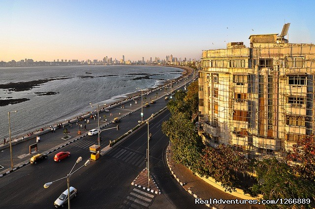 Marine Drive - Mumbai City Sightseeing Private Tour 8 hrs