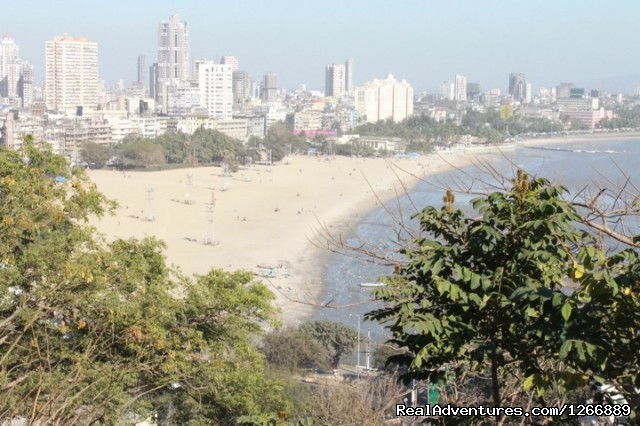 Chowpatty Beach - Mumbai City Private Tour 8 hrs AC Car & Guide