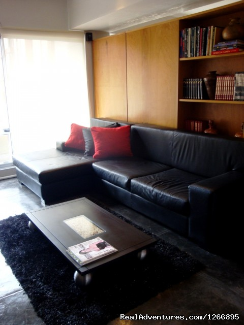 Living room (#4 of 8) - Modern Furnished Apartment In Zona Rosa Bogota