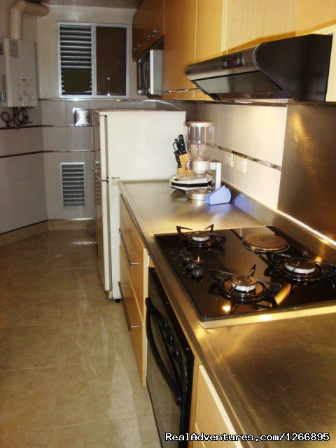 Kitchen - Modern Furnished Apartment In Zona Rosa Bogota