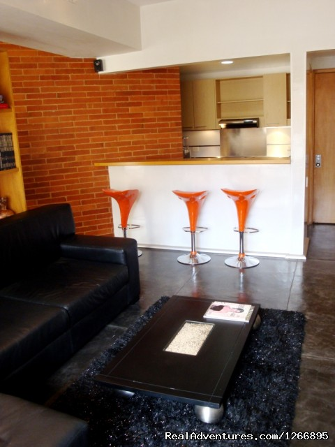 Bar (#5 of 8) - Modern Furnished Apartment In Zona Rosa Bogota