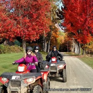 NEK Adventures Snowmobile & ATV Tours ATV Trips St. Johnsbury, Vermont