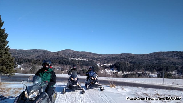 NEK Adventures Snowmobile Rentals &  ATV tours: Snowmobile Rentals and Guided Tours